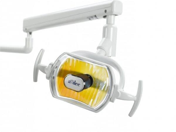 ADEC 6300 Track Mount Operatory Dental Lamp