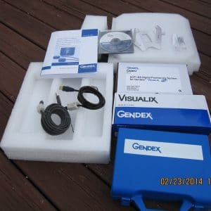 Gendex Visualix eHD Dental Digital X-Ray Sensor Size 1