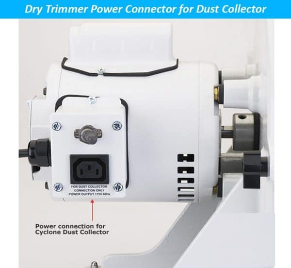 Ray Foster Dry Model Trimmer MTD1C and CDC1 Cyclone Dust